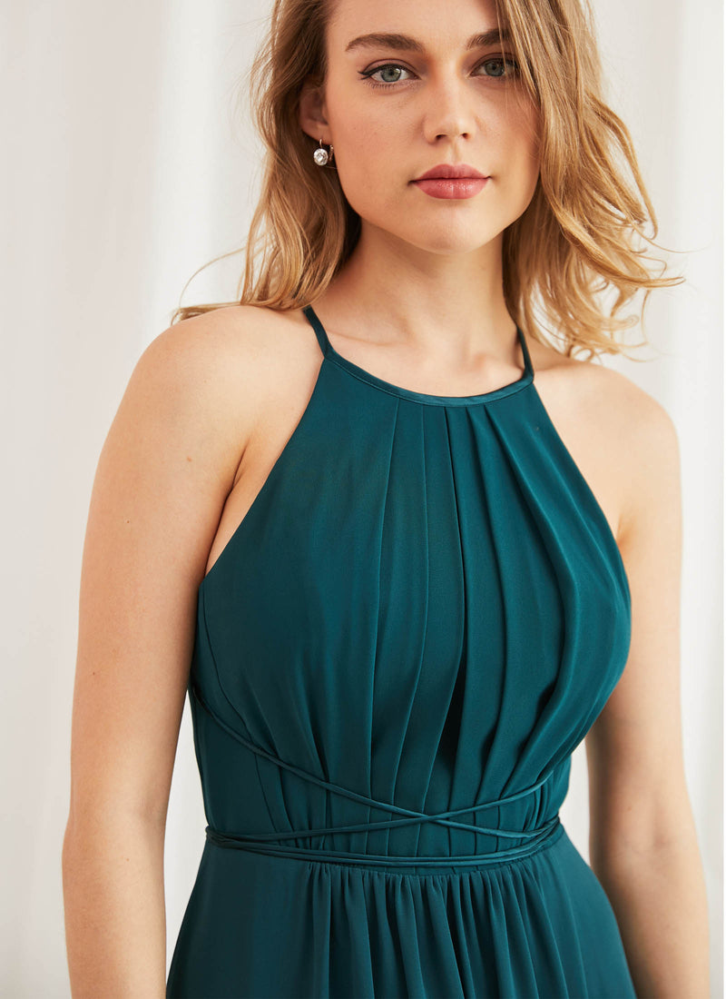 Adelle Dress, Teal Green