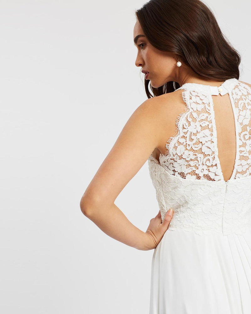 Graced by Lace Dress, Ivory