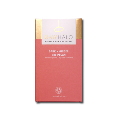 Raw Halo Dark + Ginger and Pecan (35g)