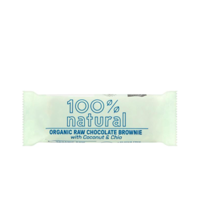 100% Natural Bar Kokos & Chia