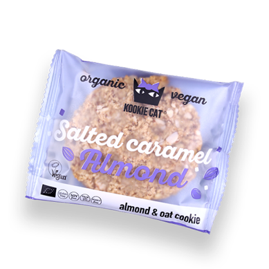 Kookie Cat Salted Caramel Almond