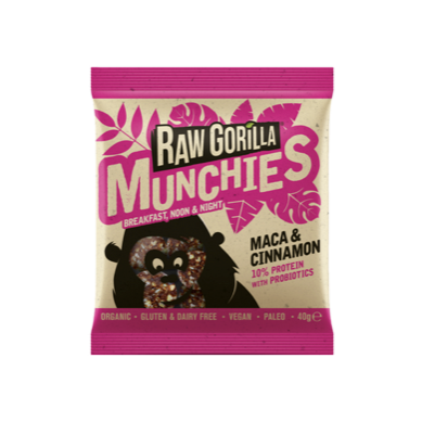 Raw Gorilla Munchies Maca & Cinnamon