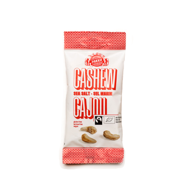 Fairtrade Cashew Havsalt