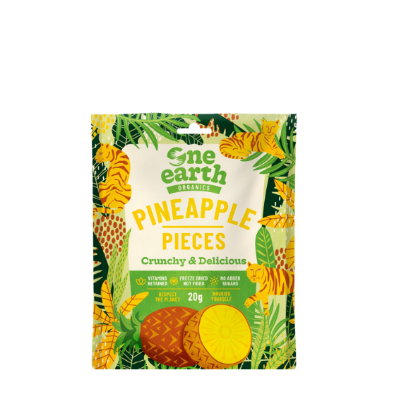 One Earth Pineapple pieces