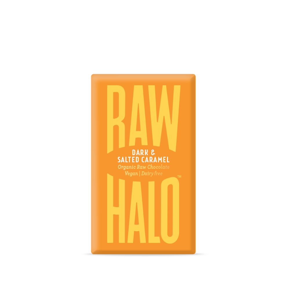 Raw Halo Dark Salted Caramel (22g)