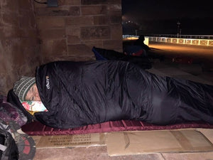 ITVs Lucy Meacock sleeps rough in Chester