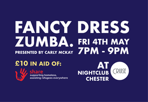 Join us at Cruise Nightclub in Chester for an evening of fun and Zumba