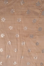 Beige Bamboo Silk Fabric