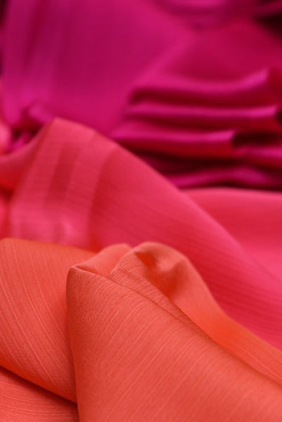 Multicolor Chiffon Fabric