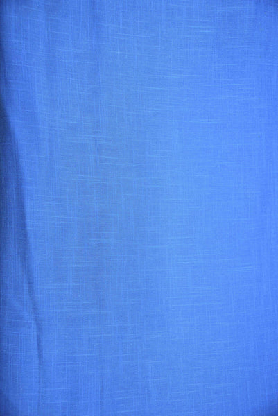 Sky Blue Plain Cotton Fabric