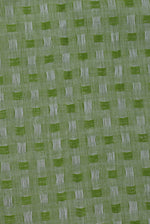 Green Checks Print Cotton Fabric