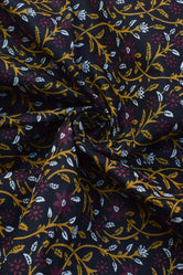 Leaf Printed Cotton Fabric