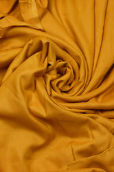 Plain Yellow Rayon Fabric