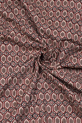 Light Grey Printed Cotton Fabric