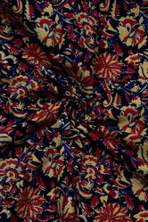 Multi Color Flower Print Cotton Fabric
