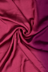 Maroon & Purple Rangoli Print Georgette Fabric