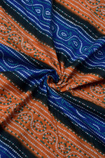 Multi Color Bandhej Print Cotton Fabric