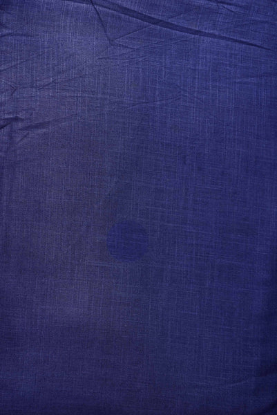 Navy Blue Plain Rayon Fabric