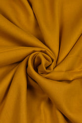 Plain Golden Rayon Fabric