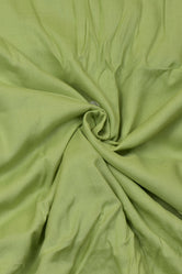 Honey Green Plain Rayon Fabric