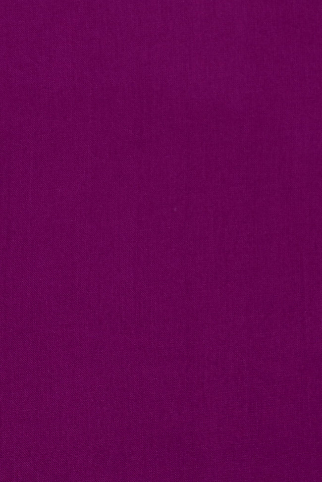 Purple Plain Rayon Fabric
