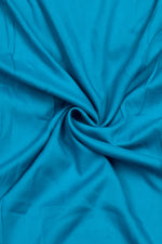 Sky Blue Plain Rayon Fabric