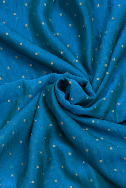 Thousand Blue Butti Fabric