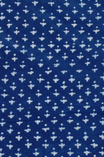 Blue Print Cotton Fabric