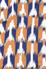 Multi Color Abstract Print Rayon Fabric