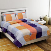 Multi Color Printed King Size Cotton Bed Sheet