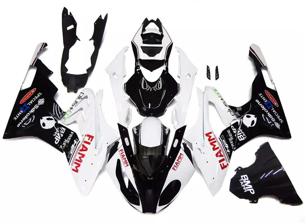 Black White 2015 2017 Bmw S1000rr Motorcycle Fairings Wicked