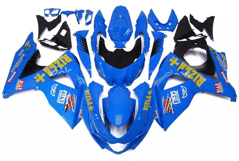 Blue Rizla+ 2009-2016 Suzuki GSX-R 1000 K9 - Wicked Fairings