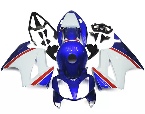 Blue, White & Red 2002-2013 Honda VFR800 - Wicked Fairings