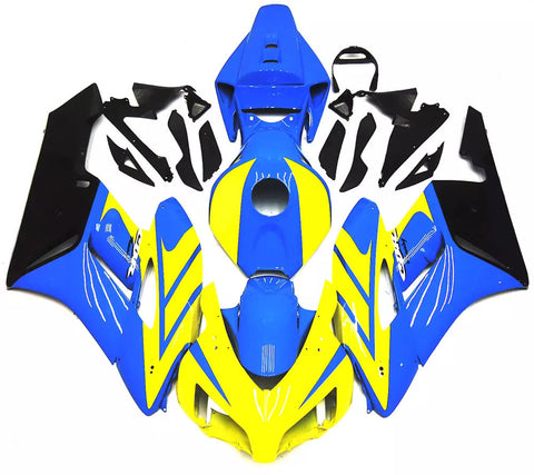 Blue & Yellow 2004-2005 Honda CBR1000RR - Wicked Fairings
