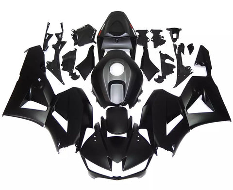 Matte Black 2013-2017 Honda CBR600RR Fairings