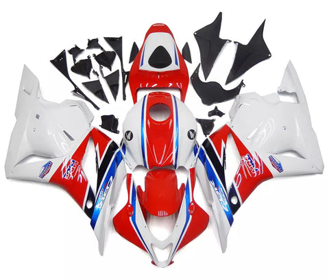 Red, White & Blue 2009-2012 Honda CBR600RR Fairings