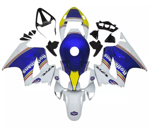 Blue & White 2002-2013 Honda VFR800 - Wicked Fairings