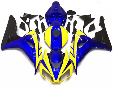 Yellow & Blue 2006-2007 Honda CBR1000RR Fairings
