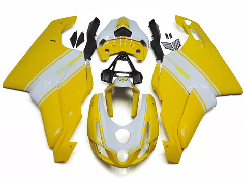 Yellow & White 2003-2004 Ducati 749 / 999 Fairings