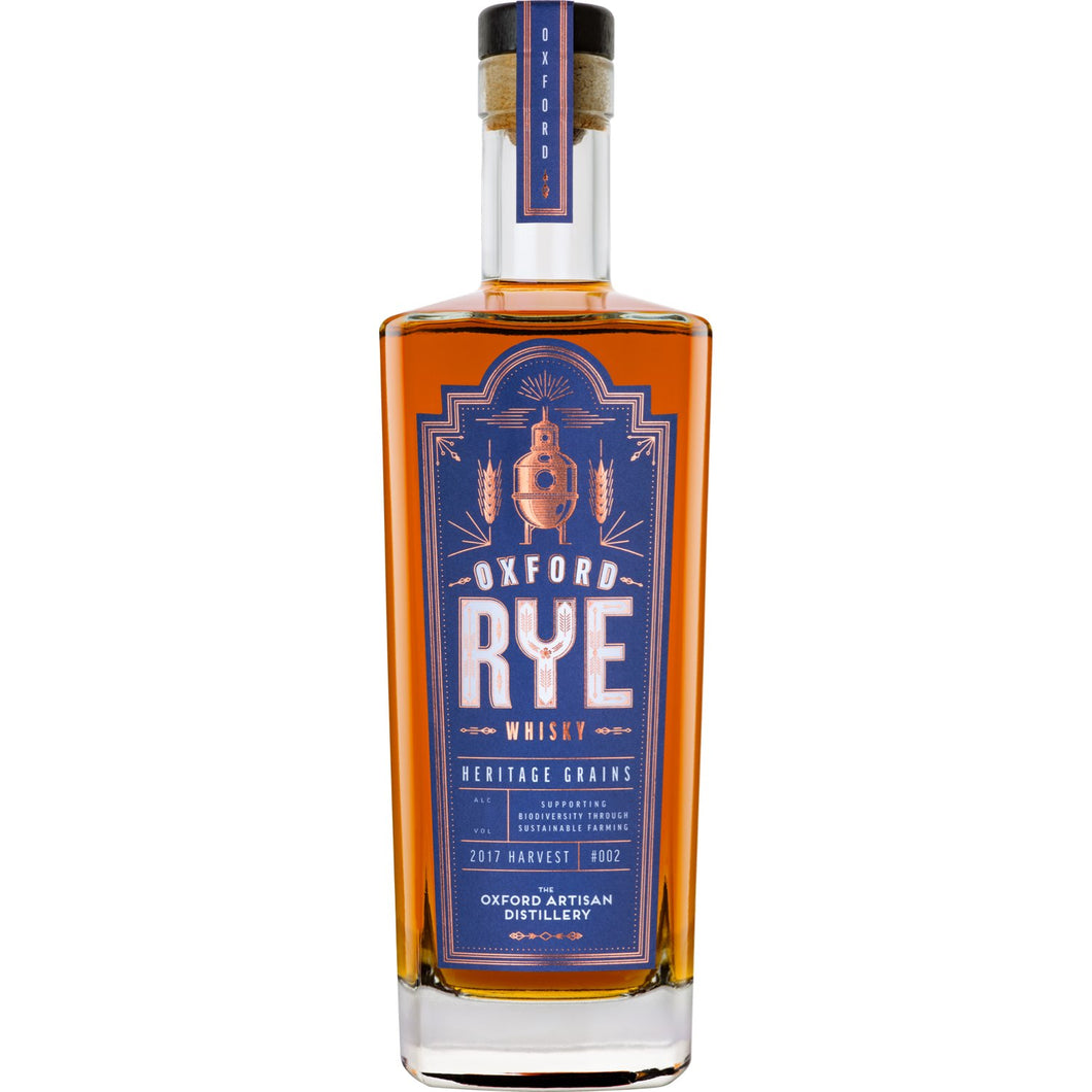 Oxford Rye Whisky Batch #2