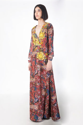 Gullistan Printed Dress