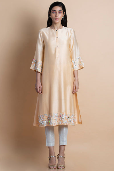 Cantaloupe Embroidered Tunic