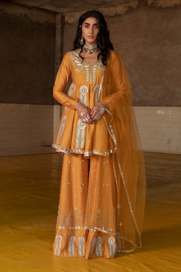Marigold Sharara Set