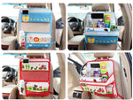 Car Space Organizer Cartoon with Tray