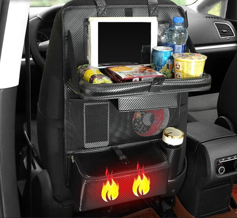 Car Space Organizer with Heating Tray