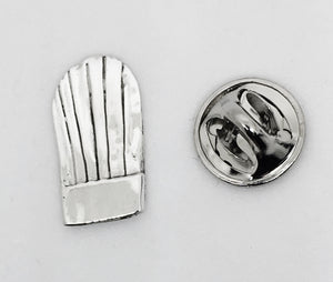 Sterling Silver Chef Hat Pin