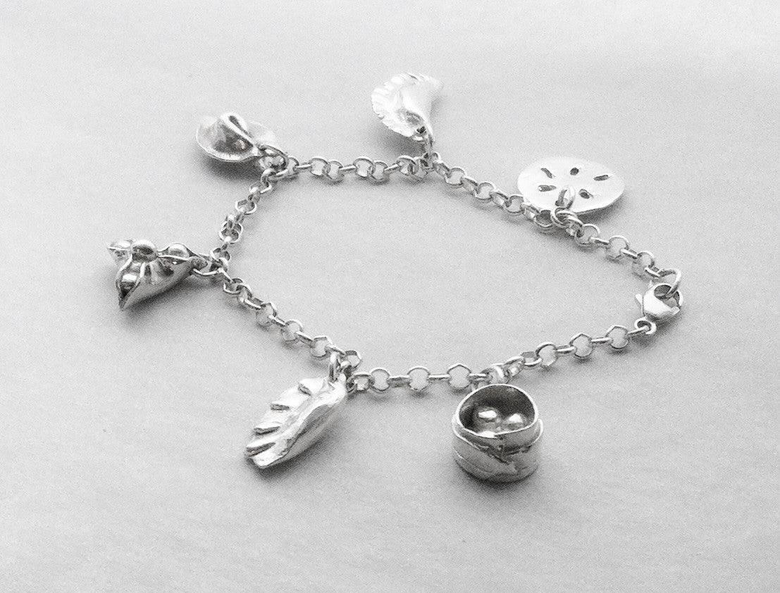 Chinese Dim Sum Bracelet in Sterling Silver