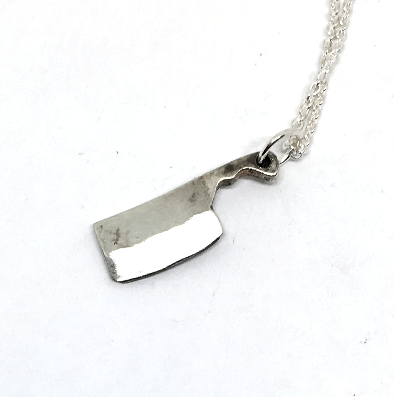 Chef Cleaver Necklace
