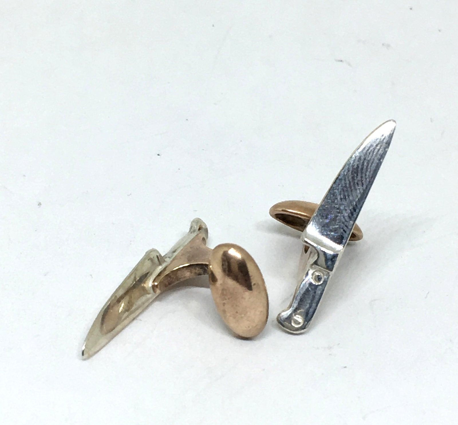 Chef Knife Cuff Links