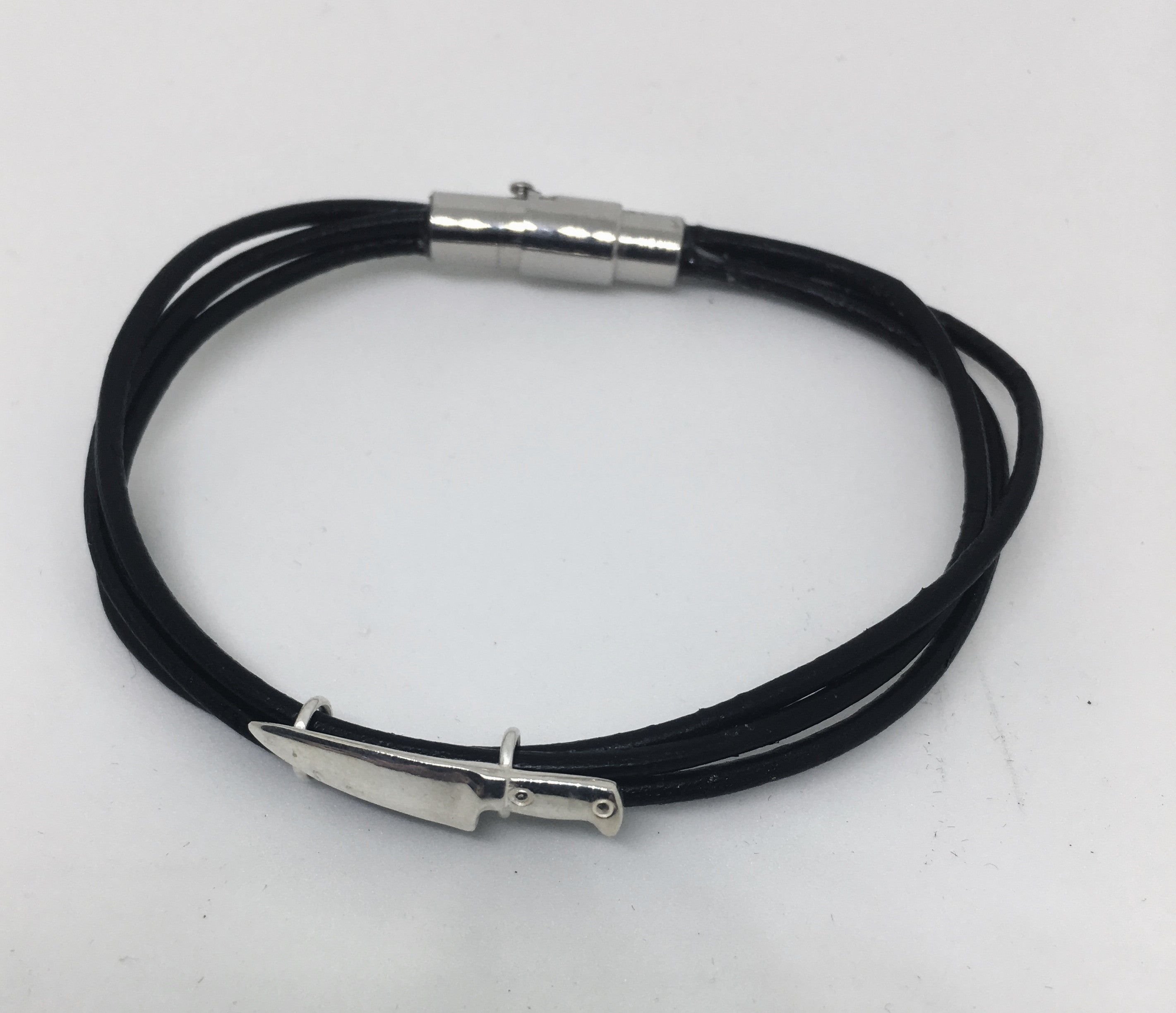 Leather Chef Knife Bracelet